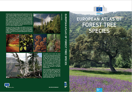 European Atlas of Forest Tree Species - cover design